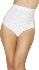 Scrunch Front High Waisted Shorts