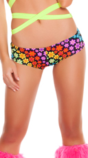 Floral Trance Low Rise Shorts