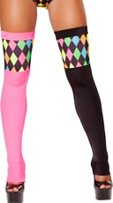 Two Tone Clown Stockings