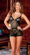Sophisticated Lace Chemise