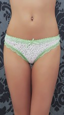 Lime and Leopard Sweet N Sexy Thong