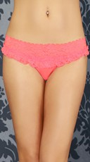 Hot Pink Flirty Girl Thong