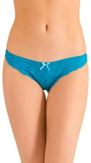 Teal Blue Amour Thong
