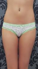 Lime and Leopard Sweet N Sexy Bikini Panty