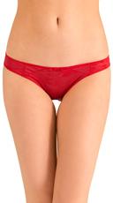Red Love Triangle Bikini Panty