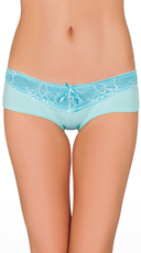 Twisted Blue Lace Hipster