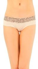 Nude Leopard Lace Bikini Panty