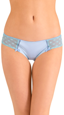 Blue Stolen Kisses Hipster Panty