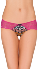 Lace Tribal Hipster