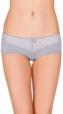 Twisted Grey Lace Hipster