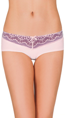 Twisted Pink and Purple Lace Hipster
