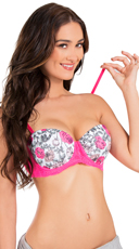 Pink Get Kissed Bra