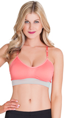 Pink Work It Out Sports Bra