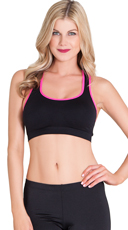 Black Playtime Sports Bra