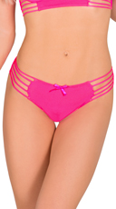 Pink Palm Springs Vibes Thong