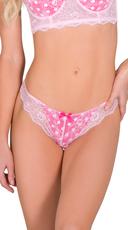 Pink Two Timer Thong