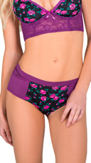 Floral High Waisted Panty