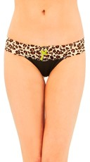 Prey On You Leopard Thong