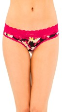 Floral Desire Lace Thong
