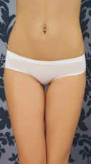 White Hipster Panty