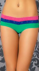 Color Me Happy Layered Bikini Panty