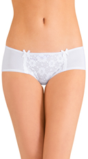 White Future Perfect Hipster Panty