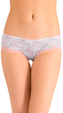 White Knockout Lace Hipster