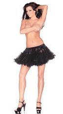 Black 10 Inch Petticoat