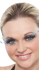 Multi Color Feather Eyelashes