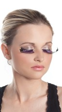 Purple Flirty Eyelashes