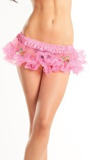 Pink Mini Petticoat with Bows