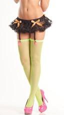 Black Mini Petticoat with Garters