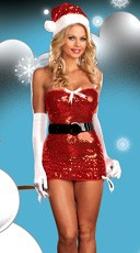Red Hot Holiday Costume