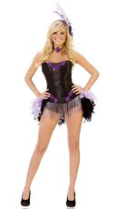 Burlesque Show Girl Costume
