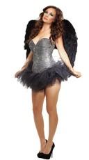 Deluxe Rhinestone Fallen Angel Costume