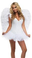 Deluxe Rhinestone Angel Costume