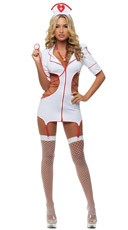 Cut-Out Nurse Costume