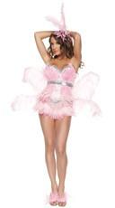 Sexy Deluxe Flamingo Costume