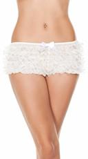 Ruffled Sequin Hot Shorts