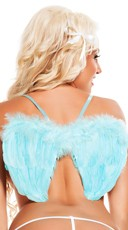 Neon Blue Wings