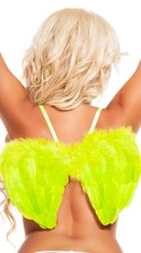 Neon Green Mini Wings