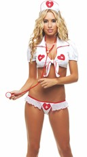 Sweetheart Nurse Bedroom Costume