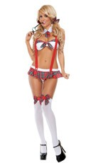 Slinky School Girl Bedroom Costume