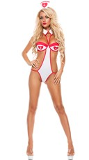 Knock Out Nurse Lingerie Costume