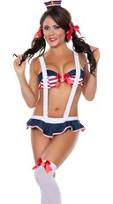 Hottie Sailor Playmate Costume