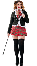 Plus Size Uptown School Girl