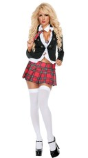 Uptown School Girl Costume
