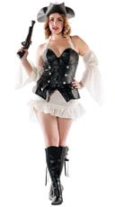 Plus Size Black Pearl Pirate Costume