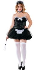 Plus Size Seductive Maid Costume