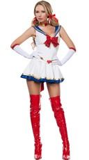 Anime Sailor Heroine Costume